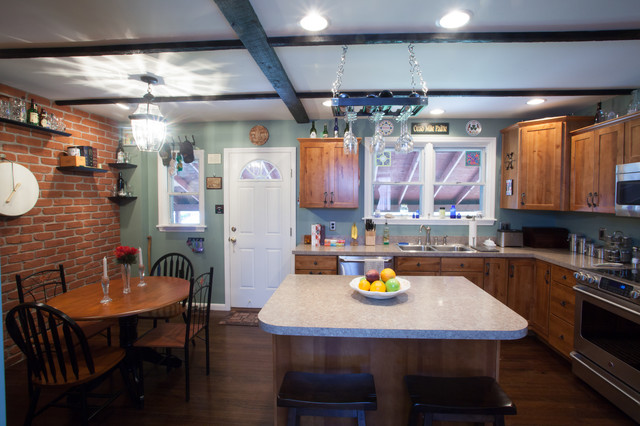 Kitchen Renovation Eltz eclectic-kitchen