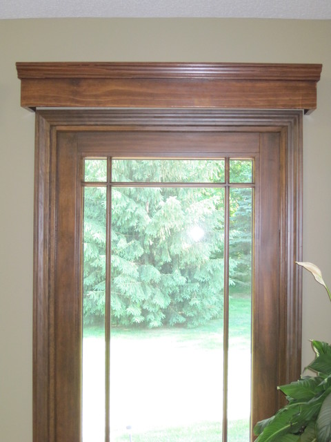 ... Window Treatment Idea For French Doors traditional-window-treatments