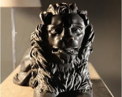BoBo Intriguing Objects Lion Statue traditional accessories and decor