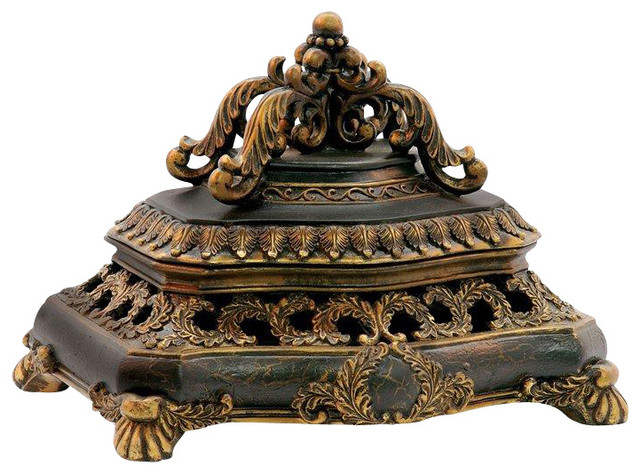 Sterling Industries Laurel Wreath Keeping Box decorative-boxes