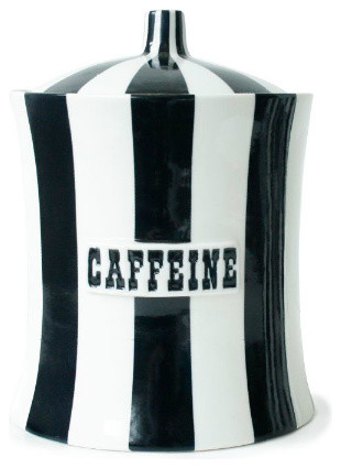 Caffeine eclectic food containers and storage