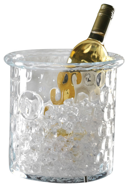 Honeycomb Ice Bucket/Cooler with Rolled Edge transitional-ice-tools-and-buckets