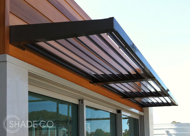 Louvre Awnings Modern Window Treatments Sydney By