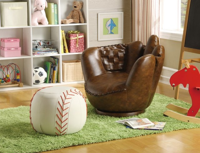 Mark Baseball Glove Chair  nightstands and bedside tables