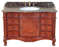 "49"" Bosconi T-3815 Single Vanity traditional-bathroom-vanities-and-sink-consoles"