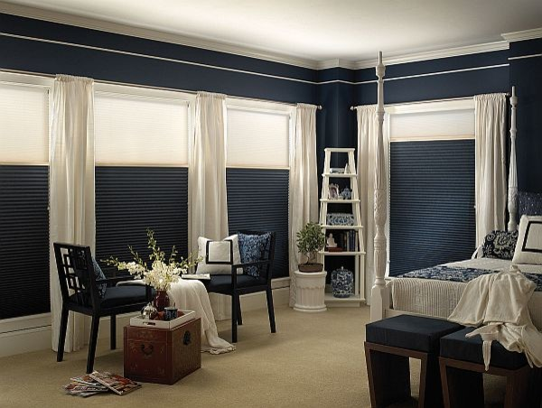 "Blinds.com 3/4"" Single Cell Day/Night Shade traditional-bedroom"