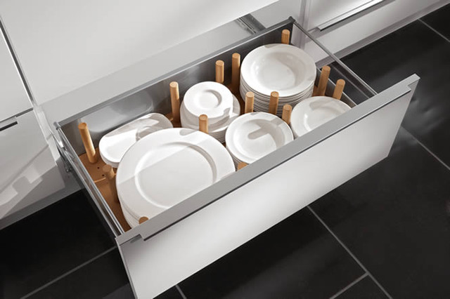 Kitchen organization boston spaces modern kitchen drawer organizers