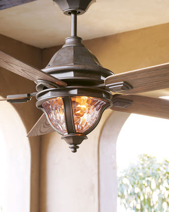 """Monticello"" Outdoor Fan traditional-ceiling-fans"