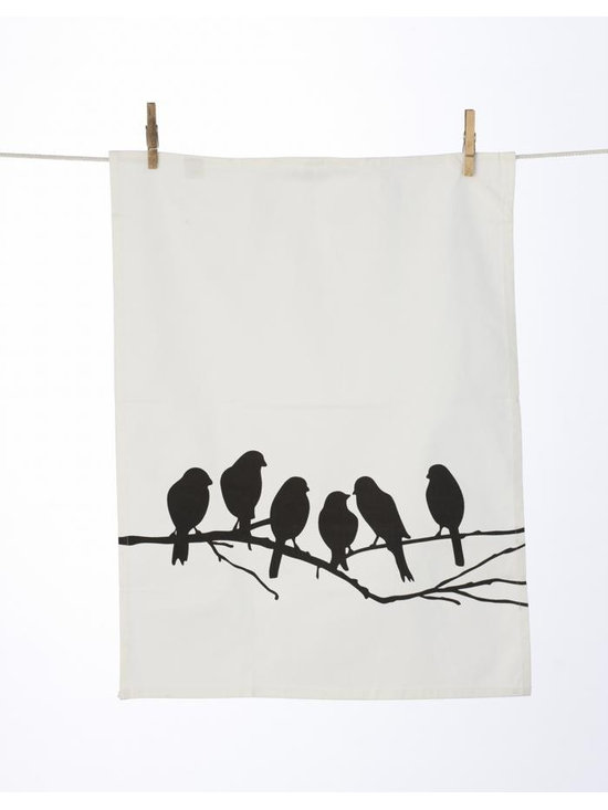 Ferm Living Lovebirds Pillow - The Tea Towels by Ferm Living are fashionable, functional and fabulous. They are printed on 100% organic cotton and will without a doubt make doing the dishes a pleasure.