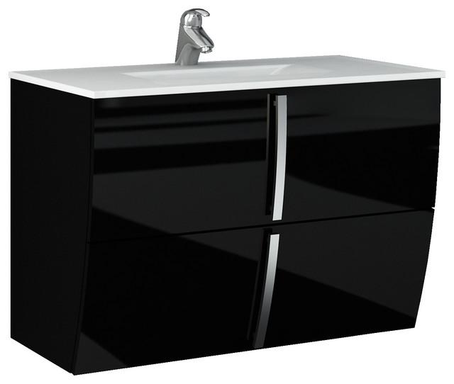 Contemporary Bathroom Single Vanity