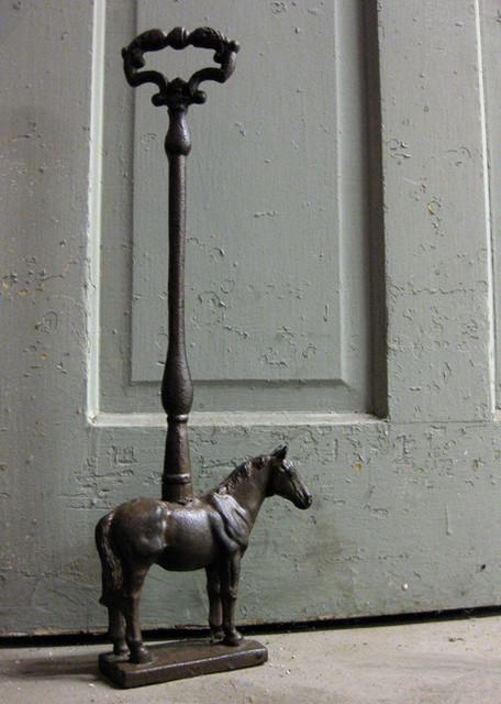 Rustic Cast Iron Horse Door Stop Farmhouse Door Stops