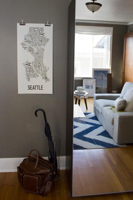 Malden Residence eclectic-living-room