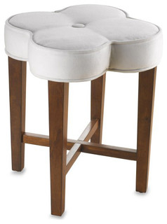 Modern Bedroom Vanity on Hillsdale Clover Vanity Stool   Contemporary   Bedroom Benches   By