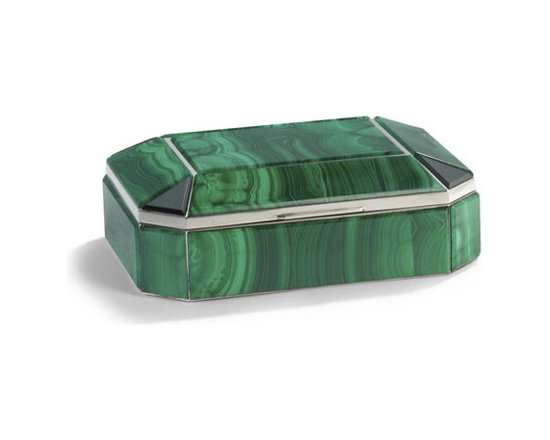 Bianca Malachite Box -