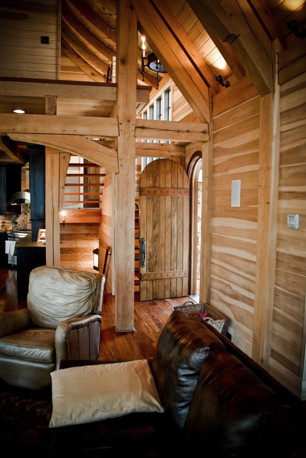 Timber Framing traditional-entry