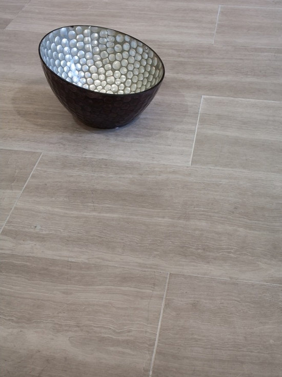 Athens Silver Cream- Grey Bathroom Floor Tile - Mission Stone and Tile