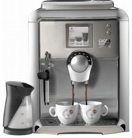 Gaggia Platinum Vision w/Milk Island Fully Automatic Espresso Machine industrial-coffee-and-tea-makers