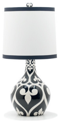 Jill Rosenwald Studio — Newport Teardrop Lamp eclectic table lamps