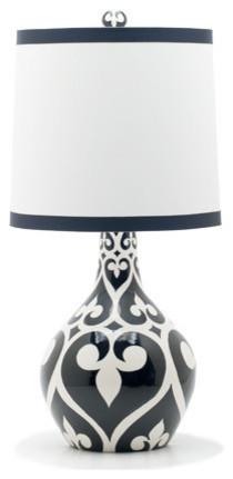 Jill Rosenwald Studio — Newport Teardrop Lamp eclectic-table-lamps