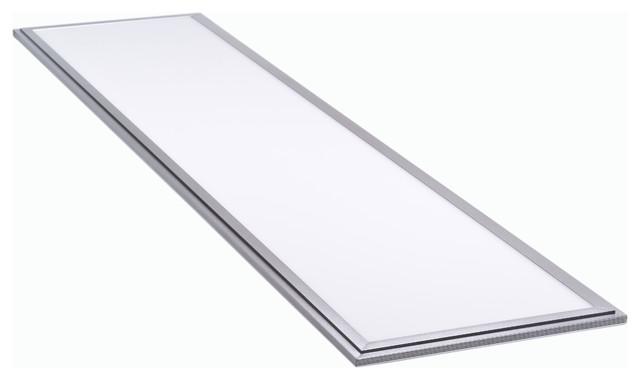 45 watt 1 x4 warm white light 2800 3200k led panel light office kitchen modern flush. Black Bedroom Furniture Sets. Home Design Ideas