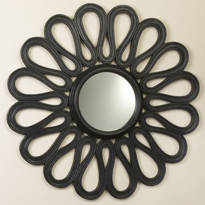 Flower Mirror eclectic mirrors