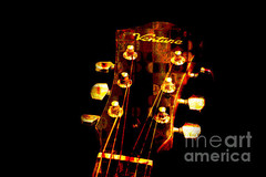 Abstract - Ventura Highway - Guitar - Musician - Andee Photography