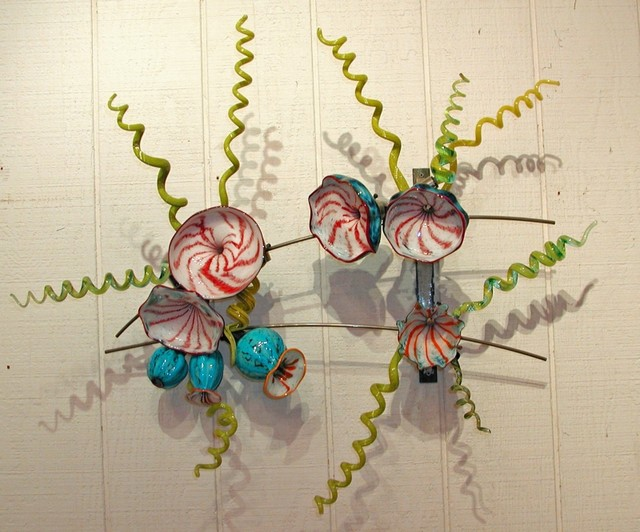 BLOWN GLASS WALL INSTALLATIONS contemporary