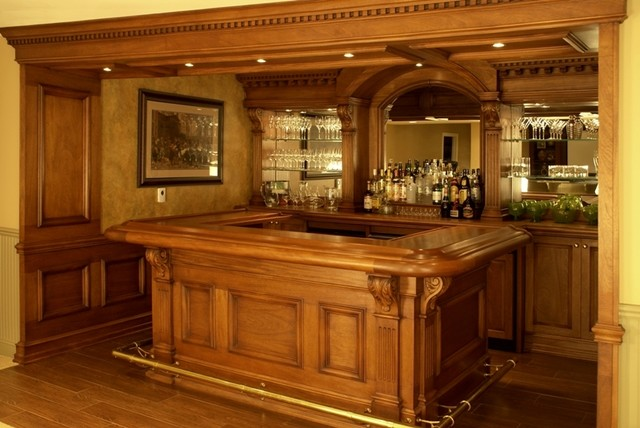 Residential bars traditional new york by wl interiors - Residential bars ...