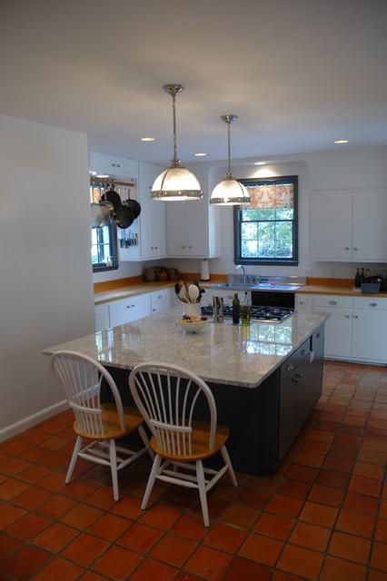 Kitchen renovation - remove that chimney traditional-kitchen