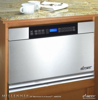 """MMD24S Discovery 24"""" Built-in Microwave In-A-Drawer with 1.0 cu. ft. Capacity  9 contemporary-microwaves"""