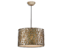www.essentialsinside.com: alita champagne pendant contemporary pendant lighting