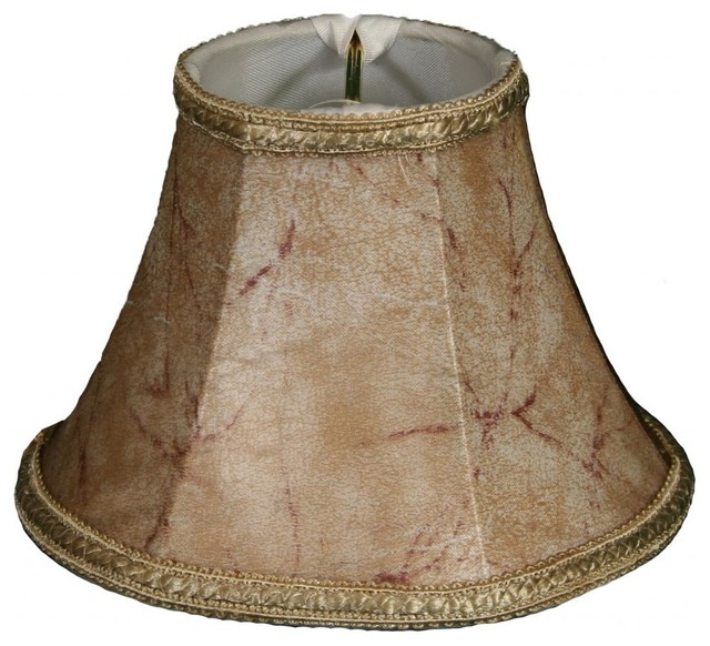 Decorative Trim Bell Chandelier Lampshade - Traditional - Lamp Shades - by royalLAMPSHADES