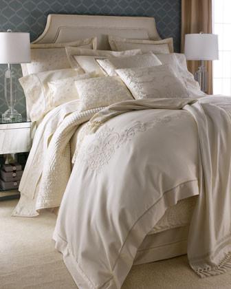 Lauren by Ralph Lauren White Hall Bed Linens King Dust Skirt traditional-sheets