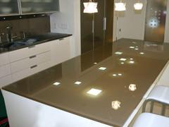 Backpainted Glass Island | Kitchen Countertop | CBD Glass : CBD Glass