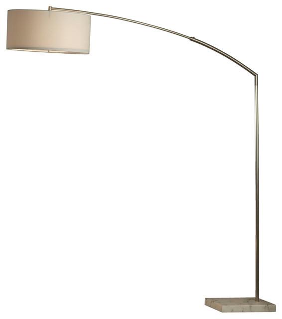 nova javelin arc lamp contemporary floor lamps by. Black Bedroom Furniture Sets. Home Design Ideas
