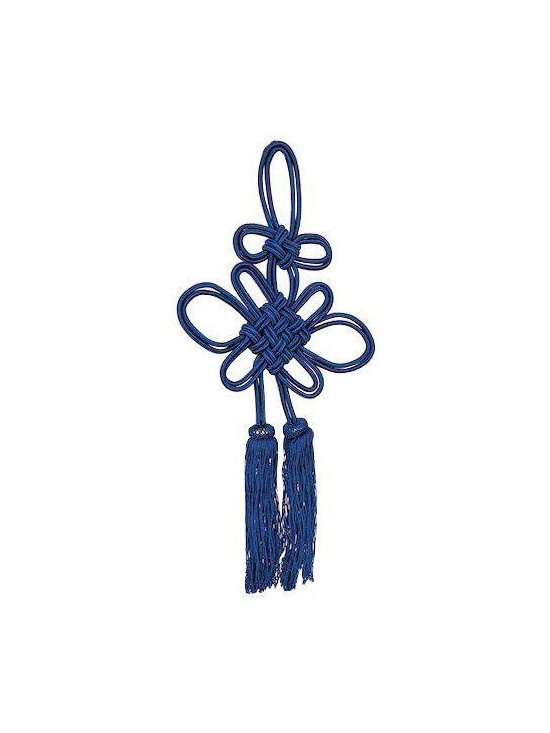 Vintage Tassel Tie-Back in Blue - $85 Est. Retail - $35 on Chairish.com -