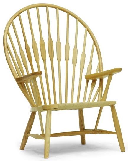 Baxton Studio Newlin Modern Windsor Style Accent Chair