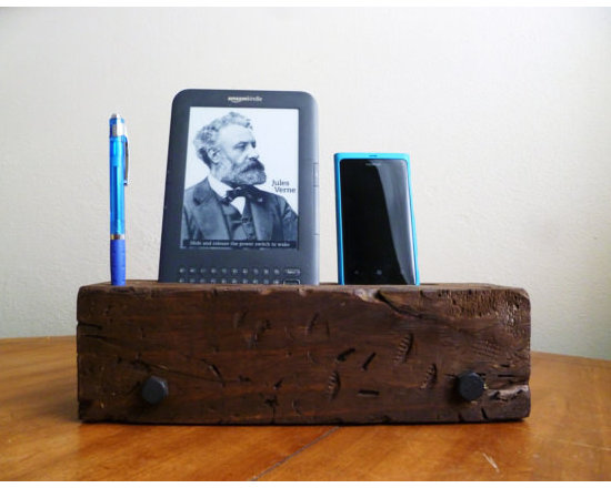 Barn Wood iPhone Dock Charging Station by J Rustic Furniture -