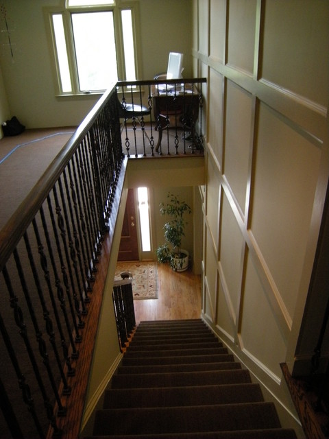 Converting Two Story Foyer : Bonus room added over a two story foyer designed and