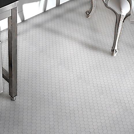 Creative Tile Bathroom Wall Along With Hexagon White Tile Bathroom Floor Design