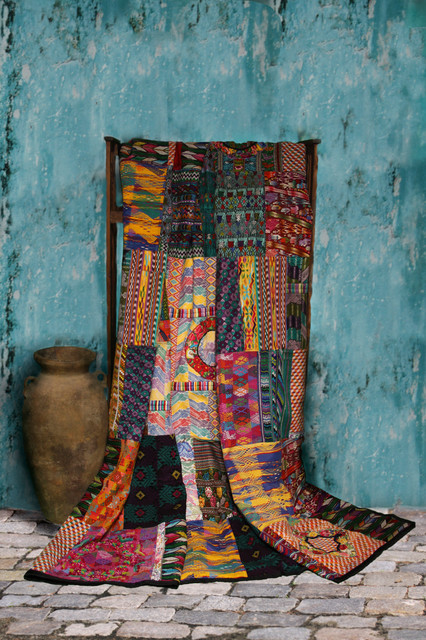 Guatemalan Quilts Bedroom Decor Eclectic Quilts And