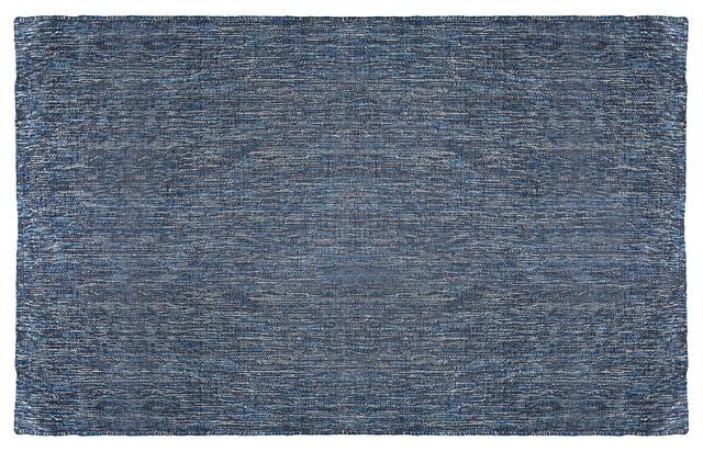 Blu Dot Golf 5' x 8' Rug, Denim Blue modern-rugs