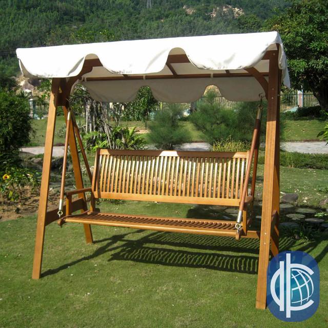 International Caravan Royal Tahiti 3 Seater Outdoor Swing