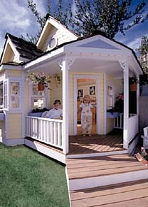 Child's Fairy Tale Playhouse traditional-outdoor-playhouses