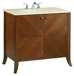 "KOHLER K-2483-F39 Clermont 30"" Vanity contemporary-bathroom-vanities-and-sink-consoles"