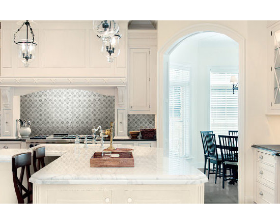 Castle Graphite - The Palazzo collection provides a multi-faceted dynamic of old world charm and modern beauty with three beautiful colors and four unique decorative designs. Trim options and mosaics also available.