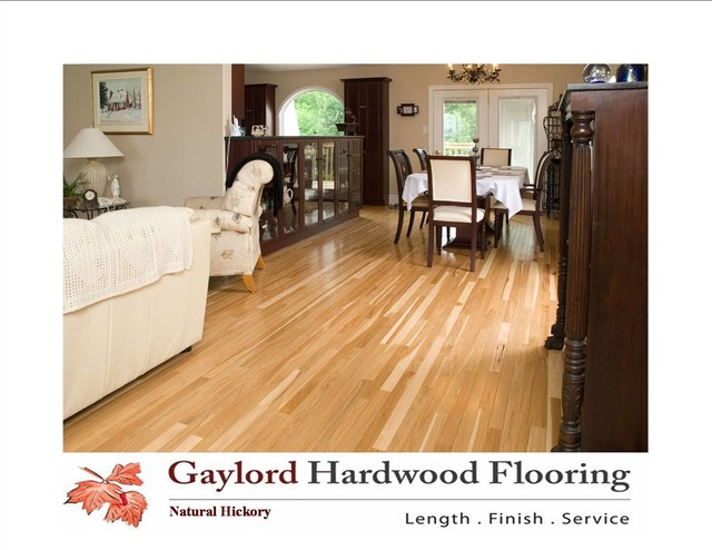 Hickory Natural hardwood-flooring