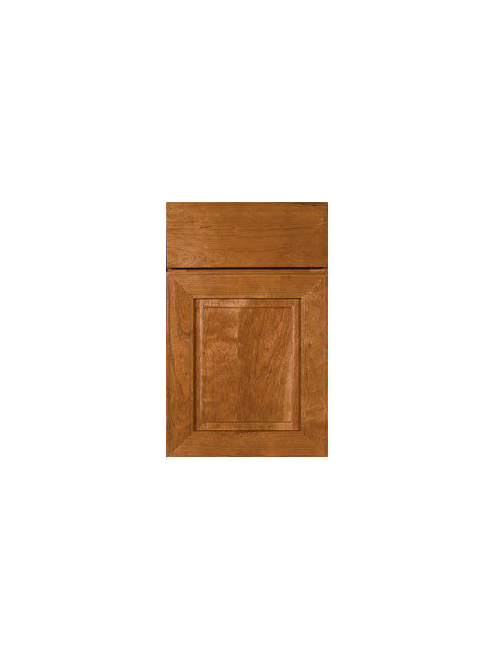 Cherry Door Styles from Wellborn Cabinet, Inc. - Monterey Cherry features a transitional design for today's contemporary home. Truly unique and striking combinations are possible with the versatility of Monterey Cherry.