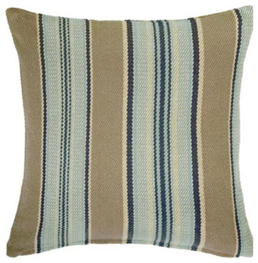 Dash and albert blue heron throw pillow traditional for Dash and albert blanket