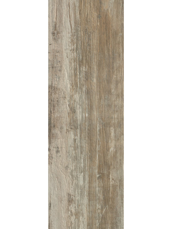 "Echo - Fiemme - A technical porcelain tile inspired from the aged woods found in historic spas in the Dolomite Mountains in Italy. Available in 6"" x 40"" and 10"" x 40"" plank."